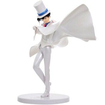 Figura de anime de Detective Conan KAITO KUROBA juguetes kaitou kiddo chico muñeca modelo superventas juguete para chico s figuras modelo 23cm