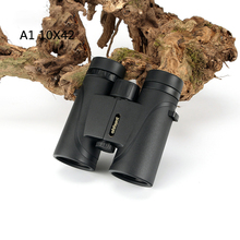 Promo offer New  A1 10X42 Binoculars Waterproof Fogproof Telescope Wide-angle Powerful Bright Optics Camping for Hunting Hiking Binocular