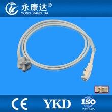 Datex-Ohmeda OxyTip+ OXY-F-UN Compatible Pediatric Soft Tip SpO2 Sensor, 8pins, 1m