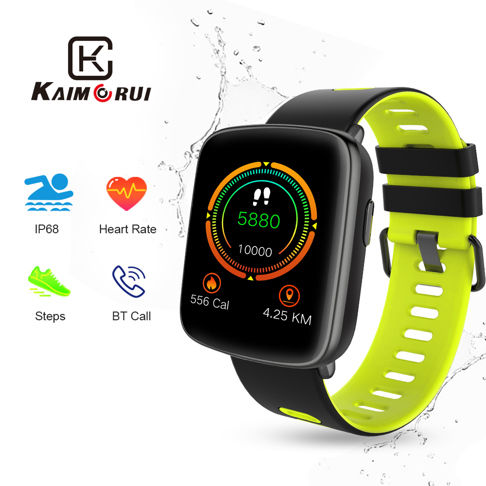 Smart Watch GV68 Waterproof IP68 Heart Rate Monitor Bluetooth Smartwatch Swimming with Replaceable Straps for Xiaomi IOS Android цена