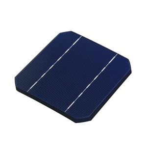 Image 2 - DIY panel słoneczny 280 W 100 sztuk ogniw słonecznych Monocrystall 5x5 z 60 M grupowanie drutu 6 M drutu i 3 sztuk Flux Pen
