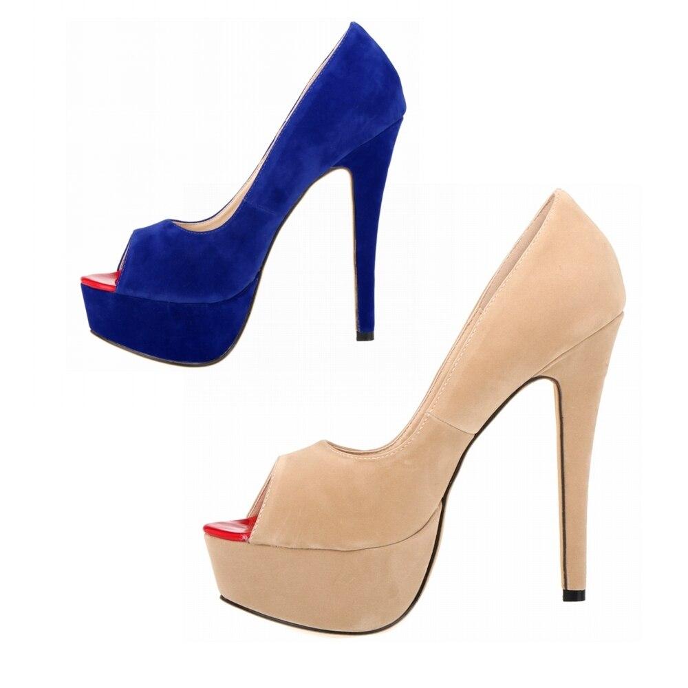 Altos 4 Mujer 1 Cm De 14 Nx Rojo Peep Toe b0004 3 Cuero Alto 42 Tacones Gran Plataforma Marca 2 Boda Zapatos Tacón Tamaño wgqF4xnf40
