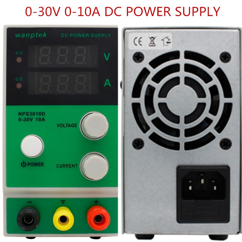 kps1510df 15v 10a digital adjustable dc power supply display mini switching dc power supply for laboratory NPS3010D 0.1V 0.01A Laboratory DC Power Supply 0-30V 0-10A Mini LED Digital Display Adjustable Switching Power Supply