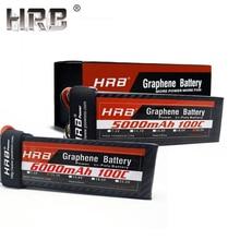 HRB Графен 3S Lipo батарея 11,1 V 5000mah 6000mah 4000mah 3800mah 3000mah 2S 7,4 V 4S 14,8 V 5S 6S 22,2 V RC части для самолетов XT60