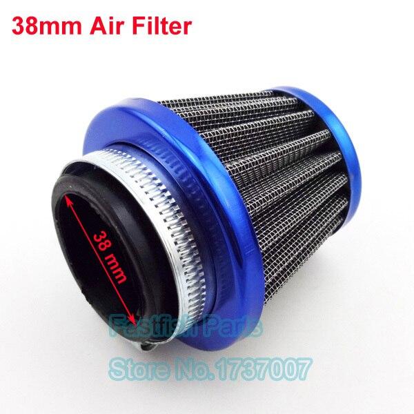 38mm Air Filter Blue Preformance For 50cc 110cc 125cc Dirt