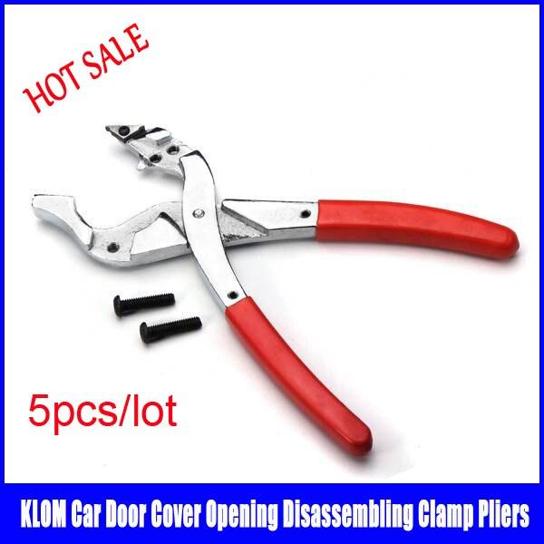 5pcs/lot Hot sale Car Door Cover Opening Pliers Disassembling Clamp Locksmith Tool Car Keys