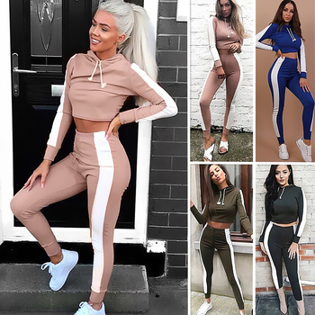 Gym Fitness Set Women Workout Yoga Clothing Running Jogging Suits For Women