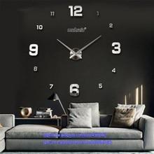 Wish hot 3D creative acrylic wall clock DIY living room
