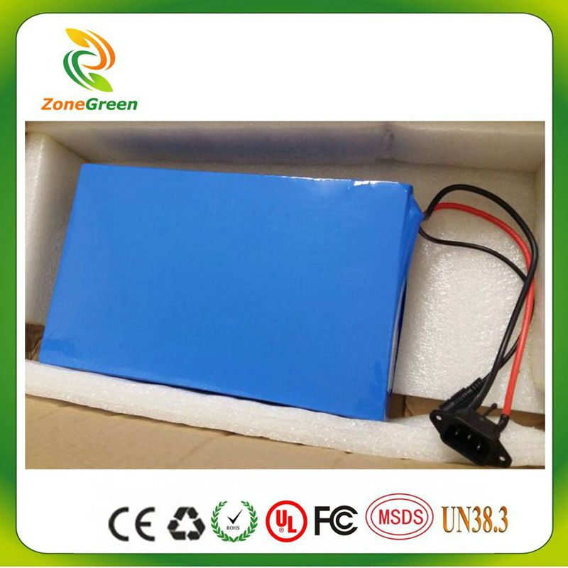 SWORDS FOX 24V 30AH electric bike e-bike  LiFePO4 battery li-ion lithium battery 1500 cycles  times  with charger  BMS PVC case
