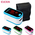 ELERA Health Care Finger Pulse Oximeter+ Pouch Blood Oxygen SPO2 PR Oximetro de dedo digital Portable Oximeter a Finger