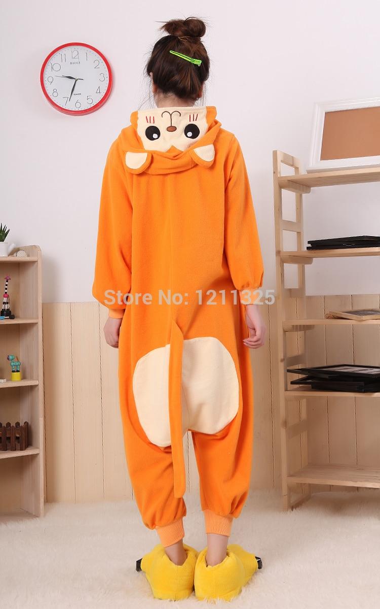 51e88c4a7e5 Free Shipping Adult Animal Romper Unisex Flannel Jumpsuit Onsie Fancy Dress  Costume monkey Animal Onesie Pajamas sleeping wear