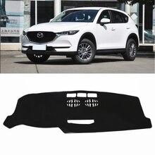 JY автомобиль тире Коврики крышки приборной панели салона Pad Интимные аксессуары защиты, пригодный для Mazda CX-5 KF 2017 2018