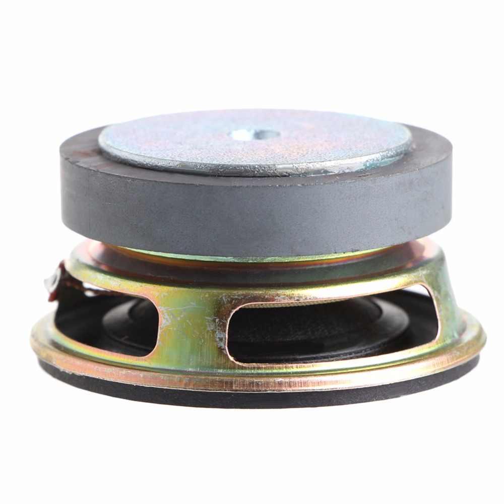 2pcs Lot De 2 Pulgadas De 4 Ohmios 3w Los 52mm Audio del Altavoz De Gama Completa De Altavoces Multimedia De Bricolaje Mini Est/éreo Caja Accesorios