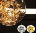 Artecnica Verwicklung Globus Anhänger Gold Silvermodernpendant lampe Mittwoch anhänger licht esszimmer beleuchtung blume in glas schatten|pendant lights|dinning room lightsdinning room -