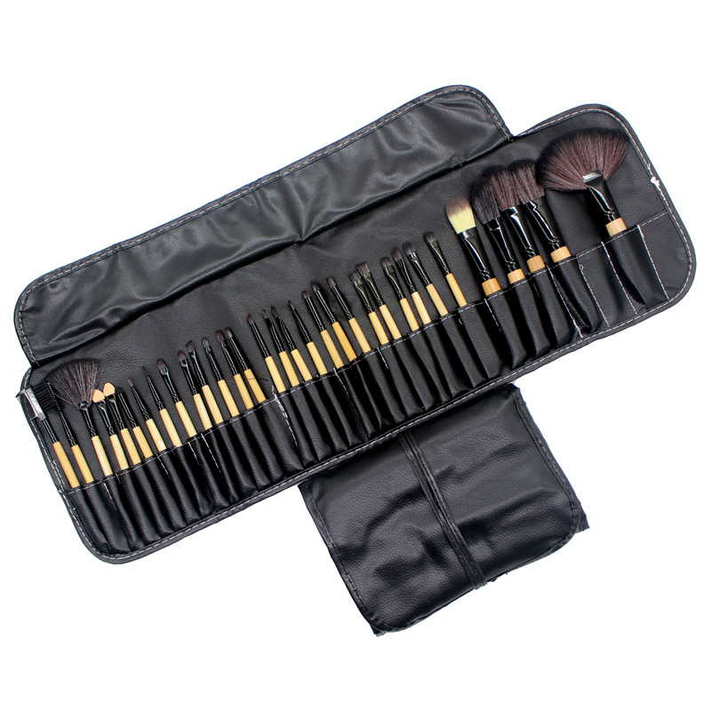 32Pcs Makeup Brushes Professional Soft Cosmetics Make Up Brush Set Kabuki Foundation Brush Lipstick Beauty Tools maquillaje 23 pieces professional versatile portable makeup brush set cosmetics brushes kit make up maquillaje with grass green pouch bag