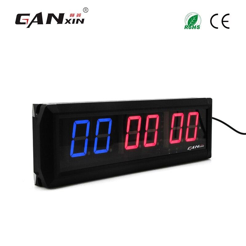 [Ganxin] 1,8 Лидер продаж удаленного Управление алюминиевый сплав индивидуальные Дизайн СИД Упражнение Crossfit таймер Тренажерный Зал Таймер