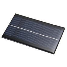 Sistema de Bateria DIY em Casa 4-peças Mini 6 V 1 W Solar Power Bank Painel Carregadores de Telefone Celular Portable Novidade HOT