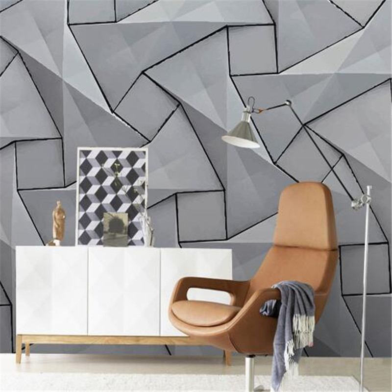 Modern 3D Wall Paper for Walls Cement Non-Woven Wallpapers Stereoscopic Gray Mural Bedroom Living Room Decorative Wallpapers damask wallpaper for walls 3d wall paper mural wallpapers silk for living room bedroom home improvement decorative