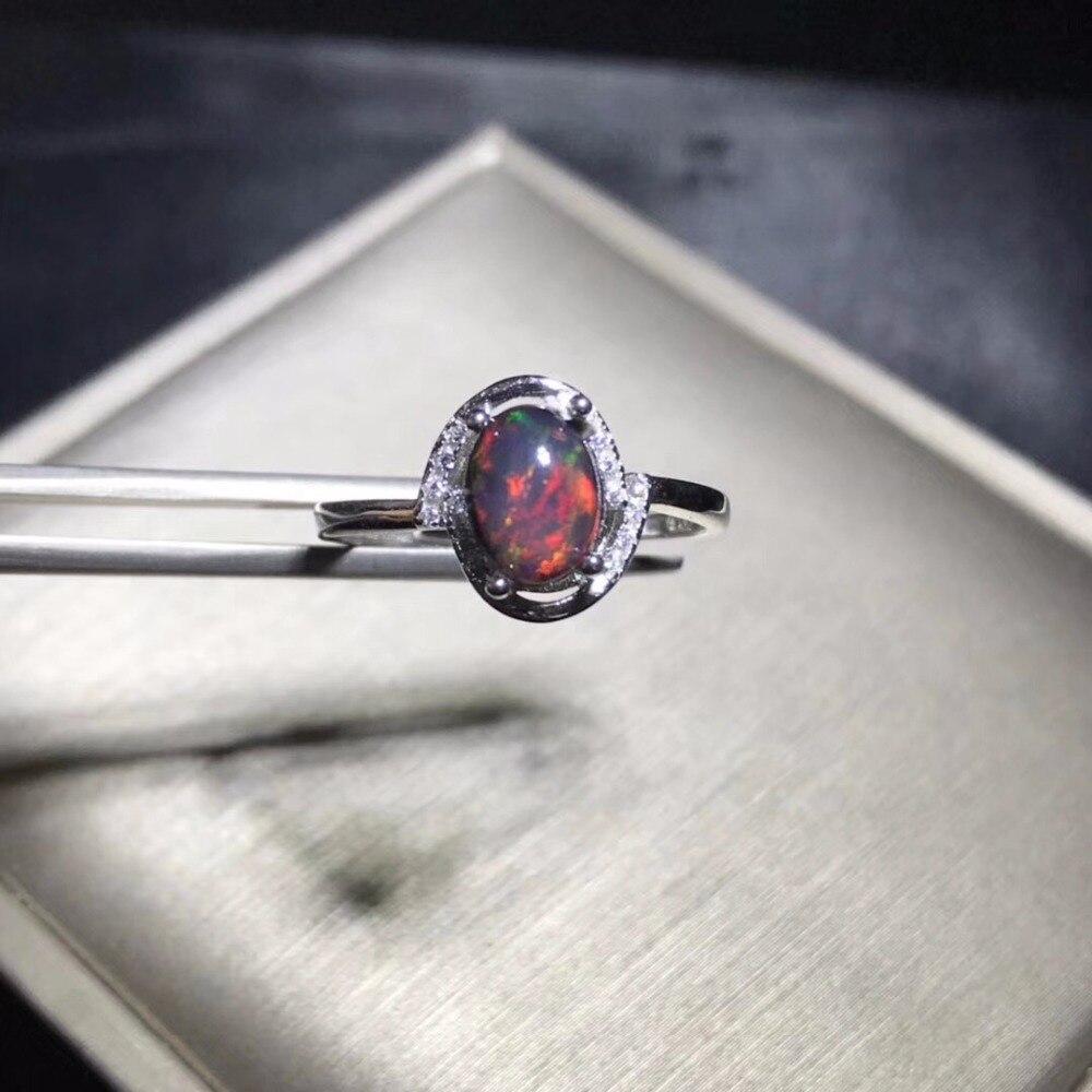 US สต็อก Uloveido Fire Opal แหวน,925 เงินสเตอร์ลิง, 6*8 มม.ได้รับการรับรองรูปไข่พลอยครบรอบปาร์ตี้แหวนผู้หญิง FJ206-ใน ห่วง จาก อัญมณีและเครื่องประดับ บน   2