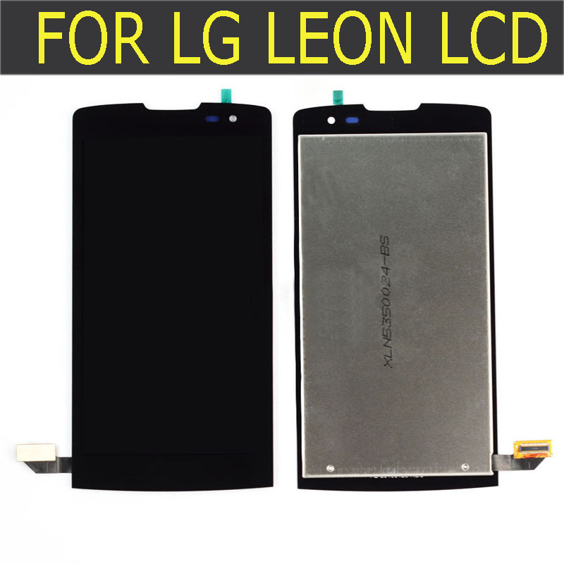 ФОТО Full LCD DIsplay + Touch Screen Digitizer Assembly For LG Leon H340 h320 h324 H340N LCD