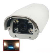 Onvif 1080P 2MP fixed lens Vehicles License Plate Recognition POE LPR IP Camera outdoor White Light