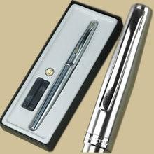 Duke 209 silver M nib fountain pen with  original box Free Shipping