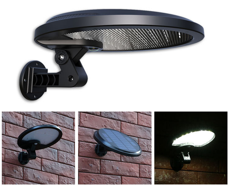 56LED 800LM Solar Street Light Lamps PIR Motion Sensor Lamps Garden Security Lamp Outdoor Street Waterproof Wall Lights