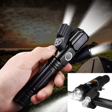 LED T6 Aluminum Alloy Adjustment Bike Lights Front Flashlight Mountain Bicycle Accessories