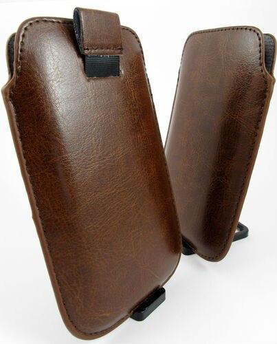 Bolsa de cuero de la pu case bolsa para zopo zp980 teléfono celular accesorios
