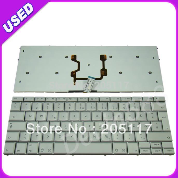 For Apple MacBook Pro 17 A1261 German Keyboard Silver,100% WORKING ! цепочка german silver 46sm