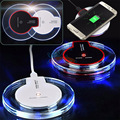QI Wireless Charger UFO Circle Charging Pad Dock Stand for SAMSUNG Galaxy S6 S6 Edge S7 S7 Edge Note 5 Nexus 6 with USB Cable