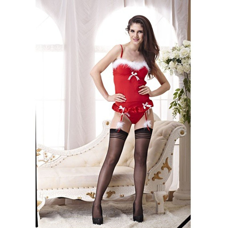 2017 Hot Sexy Valentine's Day Lingerie Christmas Women