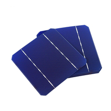 10Pcs 2.8W 125*125MM Photovoltaic Mono Solar Panel Cell 5X5 Grade A High Efficiency For DIY Monocrystalline Silicon Panel