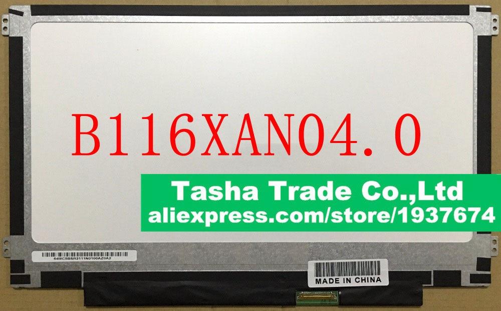 B116XAN04.0 IPS Laptop LED LCD Screen 11.6 HD Display New 1366*768 Matrix Good Quality AU Optronics