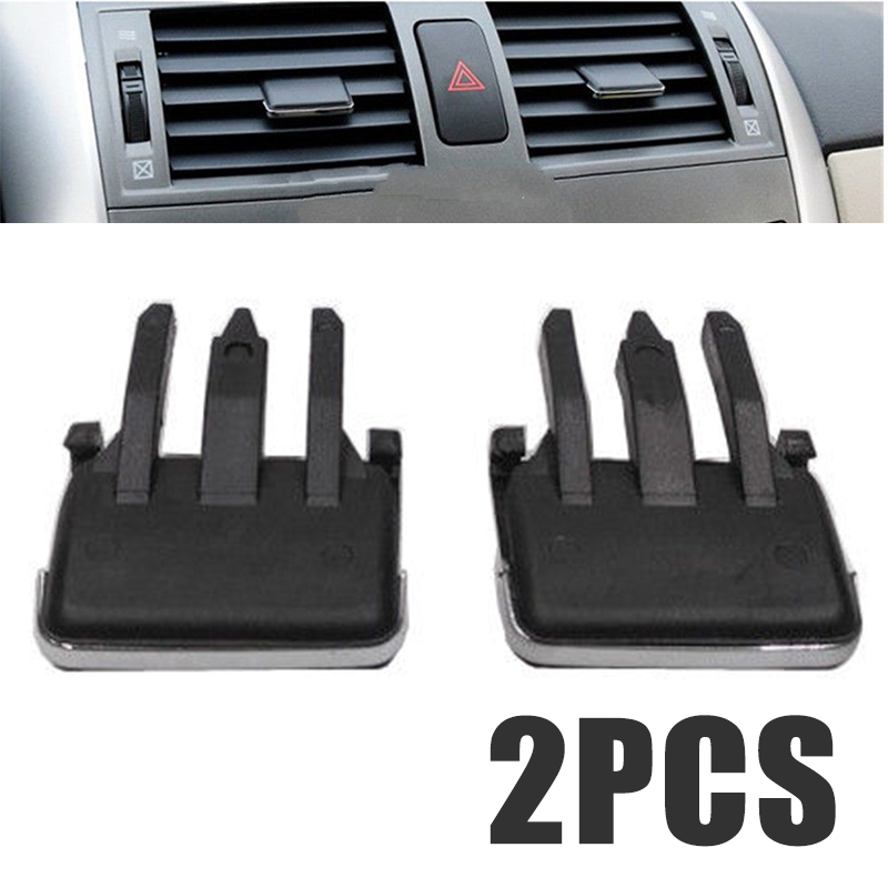 US $2 62 32% OFF|Air conditioning Installation 1Pair Slice Air Conditioning  Leaf Adjust Clips Car Air Vent Louvre Blade for Toyota Corolla-in