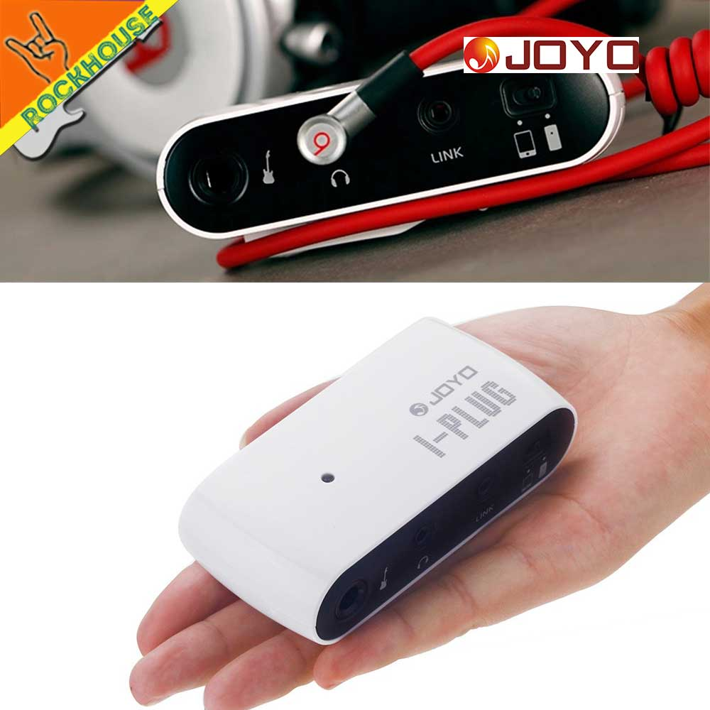 JOYO mini Guitar Pocket Amplifier Guitar Interface for APP Pedals Headphone output build-in Clean and Overdrive Effects