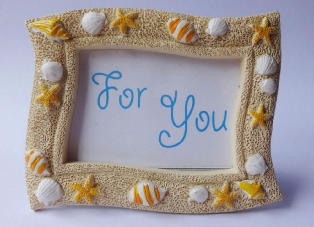 10pcs Starfish shell Beach Mini Photo Frame For Wedding Baby Shower ...