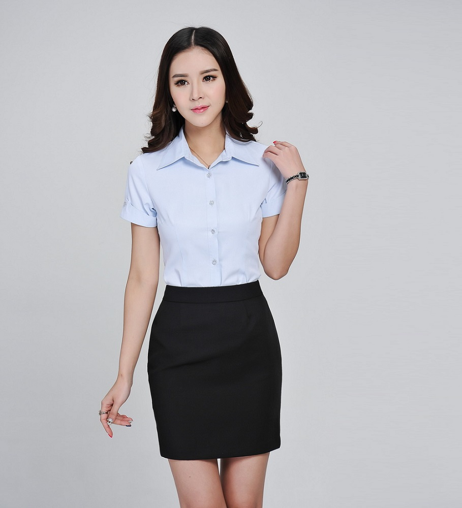 Aliexpress.com : Buy Formal Ladies Summer Shirts Women Work ...