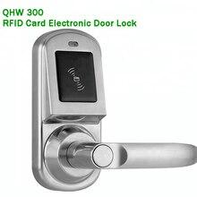 Smart Electric Lock Mechanical Key/RFID Card Replace knob lock Electronic Door Lock Handle Home Access/Apartment/Gate opener