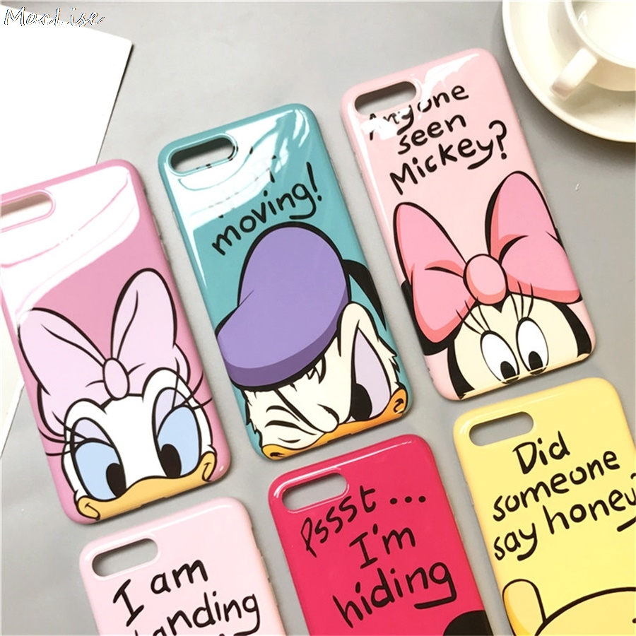 360 Full Cover Phone Case + Screen Protector For Iphone X 8 7 6 S 6S Plus For Iphone7 Iphonex Iphone8 Coque Cartoon TPU Cover