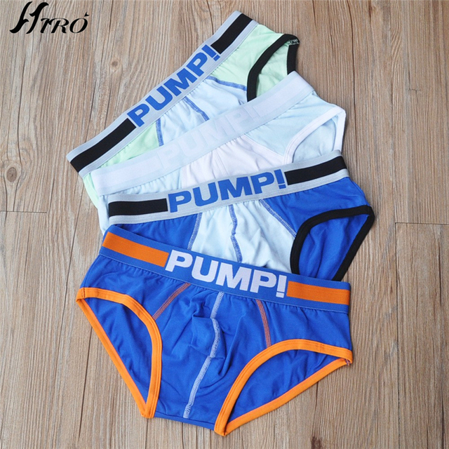 4pc/lot Best Selling Men Briefs High Quality Underwear Male Brand Cotton Cueca Sexy Underwear Men Gay Underwear Man Underpants