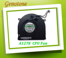 "Original new CPU Fan For Macbook Pro 13"" A1278 SUNNON ZB0506AUV1-6A 4PIN 2009-2012(China)"