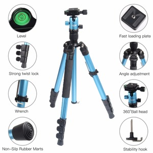 Image 4 - ZOMEI M3 Camera Tripod & Monopod Light Weight Travel Tripod with 360 Degree Ball Head and Carry Bag for SLR DSLR Digital Camera