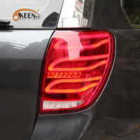 OKEEN Car Styling tail lights for Chevrolet Captiva 2009 2016 LED Tail Lamp rear trunk lamp cover drl+signal+brake+reverse