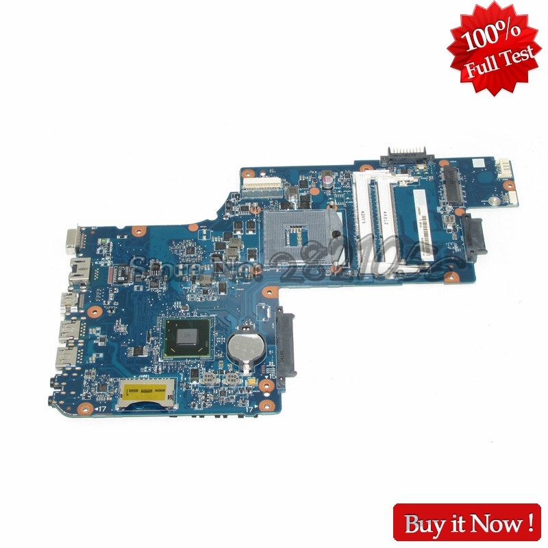 все цены на NOKOTION H000061920 Laptop Motherboard For Toshiba Satellite C50 C50D Main Board PGA989 HM70 DDR3