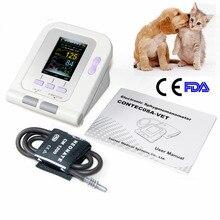 FDA OLED digital de Presión Arterial y Heart Beat Vet Veterinaria Monitor de NIBP CONTEC08A