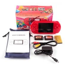 YENI 16 bit elde kullanılır oyun konsolu Taşınabilir video oyunu 200 + Oyunlar Retro Megadrive PXP3