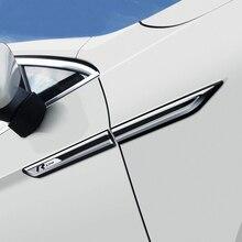 Для Volkswagen Passat B8 chrome изменение кузов стандарт fender украшения Passat B8 вариант автомобиля стикер