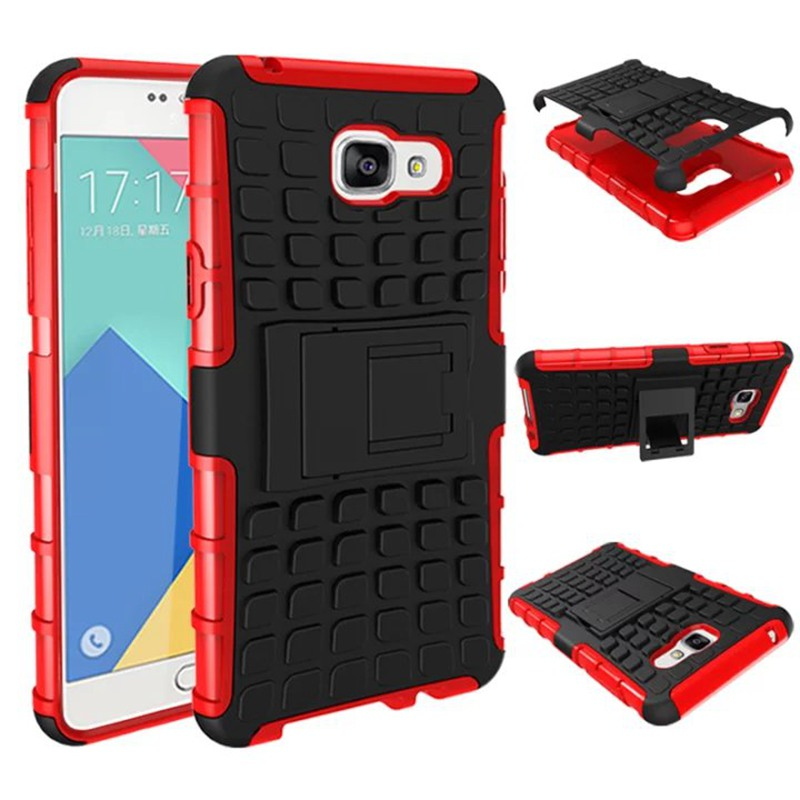 2 in 1 Armor Back Case for <font><b>Samsung</b></font> Galaxy <font><b>A5</b></font> 2016 Cover for <font><b>Samsung</b></font> A510 With Stand <font><b>Holder</b></font> Silicone Case <font><b>Phone</b></font> Coque Hoesjes