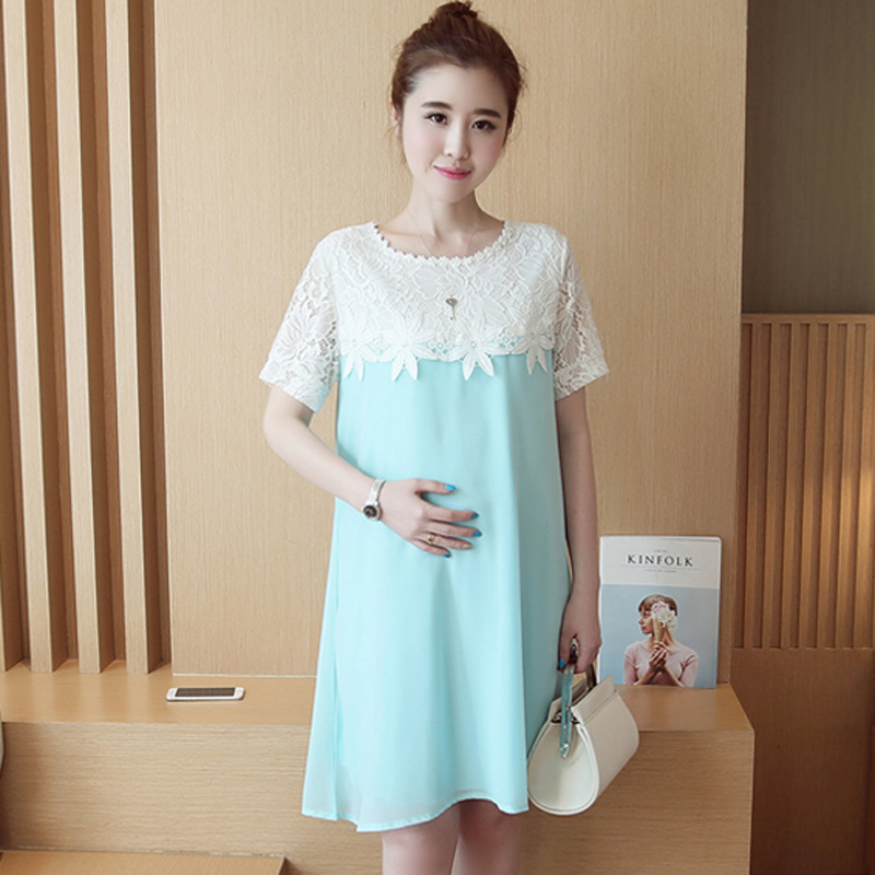 Summer Pregnant Woman Maternity Dresses Clothing Clothes ...